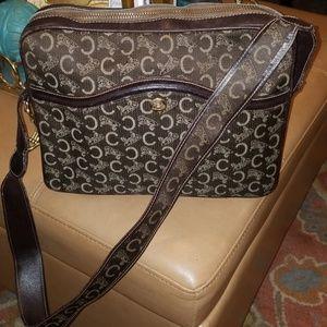 Vintage Celine Horse And Carriage shoulder bag